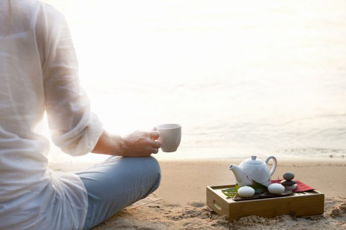 Meditating with Herbal Tea